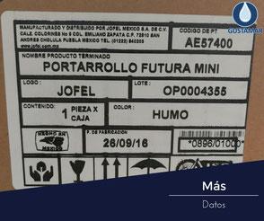MÁS DEL DESPACHADOR DE PAPEL HIGIÉNICO INSTITUCIONAL JOFEL MINI FUTURA AE57400
