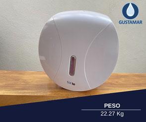 DESPACHADOR DE PAPEL BLANCO FORTE GUSTAMAR CON PESO DE 22.27 KG