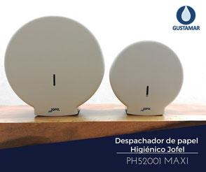 DISPENSADOR DE PAPEL HIGIÉNICO INSTITUCIONAL JOFEL MAXI AZUR PH52001