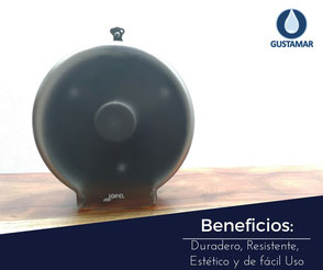 BENEFICIOS DEL DESPACHADOR DE PAPEL HIGIÉNICO INSTITUCIONAL JOFEL MINI AZUR PH51002