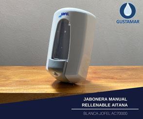 JABONERA MANUAL RELLENABLE AITANA BLANCA JOFEL AC70000