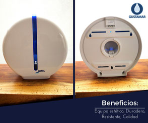 BENEFICIOS DEL DISPENSADOR DE PAPEL HIGIÉNICO JOFEL MINI ATLÁNTICA AE36000