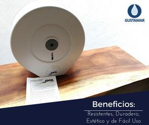 BENEFICIOS DEL DISPENSADOR DE PAPEL HIGIÉNICO INSTITUCIONAL JOFEL MAXI ALTERA PH52300