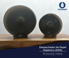 DISPENSADOR DE PAPEL HIGIÉNICO INSTITUCIONAL JOFEL MINI AZUR PH51002