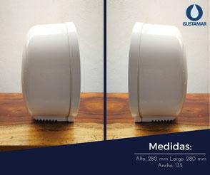 dispensador de papel higienico jofel ae36000
