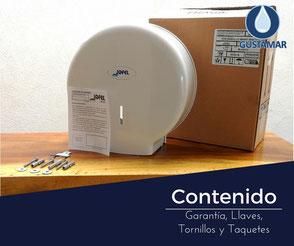 CONTENIDO DEL DESPACHADOR DE PAPEL HIGIÉNICO INSTITUCIONAL JOFEL  MINI SMART AE59000