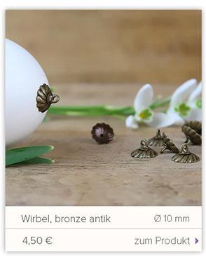 Aufhänger für Ostereier, Blüte, zink