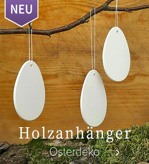 Holzanhänger Eier