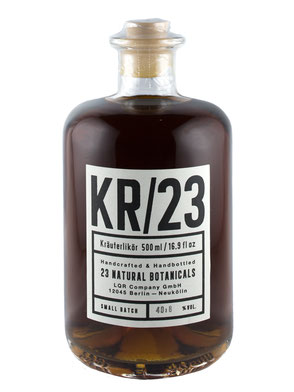 KR/23, Kräuterlikör, Likör, Kräuter, Berlin, Galerie Orange, Friedrichshain, Wühlischstraße,