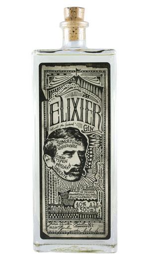 Elixier Gin, Berlin, Gin, Galerie Orange, Friedrichshain, Wühlischstraße,