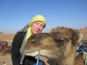 Gabriela Ribeiro - Wüstenguide, Wüstentrekking Marokko