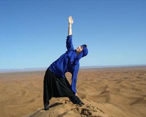 Silke Taute - Yogalehrerin - Wüstentrekking Marokko