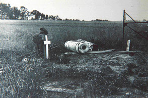 Fieldgraves at the Oranjeweg, Oosterbeek