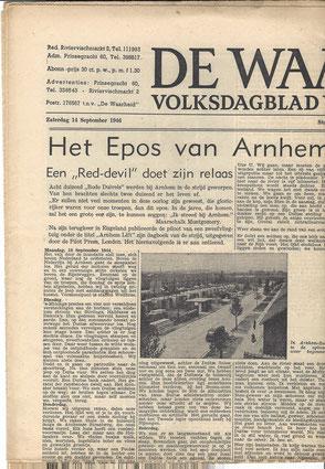De Waarheid 14-09-1946 (Collection P. Reinders)