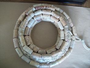 DIY een kurkenkrans maken