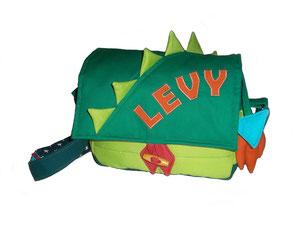 Kindergartentasche im Drachendesign