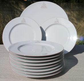 """Vaisselle personnalisée logo """"Bonne Popotte"""""""