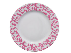 Assiette Arabesques Trianon Nara Porcelaine
