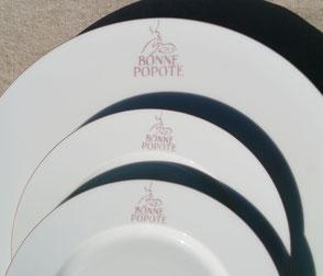 Service porcelaine personnalisé avec logo
