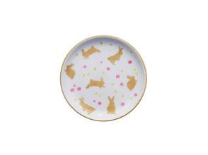 Usagi Lapins Mini Assiette à thé, bijoux