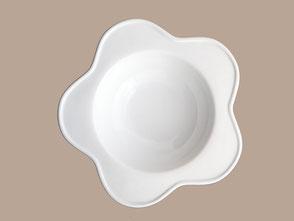 assiette porcelaine fleur