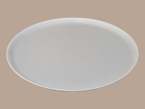 PLAT rond à rebord 29 cm et 32,5 cm