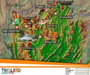 Nordthailand Explorer Rundreise von Thailand-Spezialisten