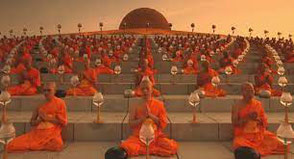 Magha Puja  Festival in Thailand