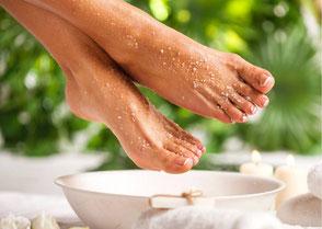 Fußbehandlung in der Beauty & Wellness Auszeit in Affing