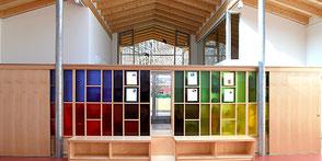 Kindergarten Nußdorf, Innenausbau Schreinerei Peter Moser