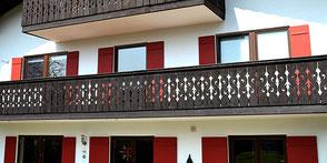 Balkone vom Schreiner Peter Moser, Nußdorf