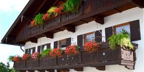 Beispiel Balkon vom Schreiner