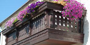 Balkone von Schreinerei Peter Moser, Nußdorf