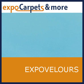 Expo-Velours Teppiche in 20 Farben für Messen und Events von expoCarpets & more