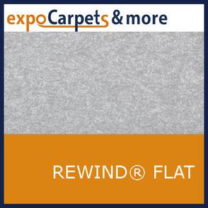 Recycling (Rewind ® Flat) Teppiche in 10 Farben für Messen und Events von expoCarpets & more