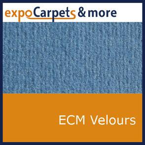 ECM-Velours Teppiche in 16 Farben für Messen und Events von expoCarpets & more