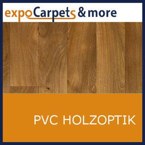 PVC Holzdekor geprägt von expoCarpets & more