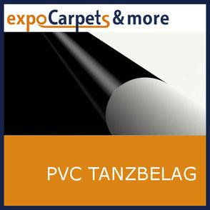 PVC Tanzbelag beidseitig verwendbar von expoCarpets & more