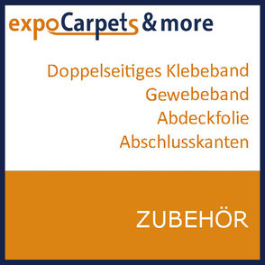 Zubehör zum verlegen von Teppichen und anderen Bodenbelägen Messen und Events von expoCarpets & more