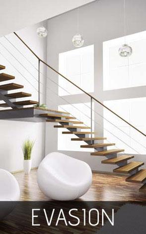 Escalier moderne à clermont-ferrand