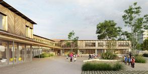 Construction du groupe scolaire Victor Hugo - Schiltigheim