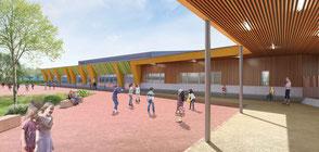 Construction d'une école primaire - Einville au Jard