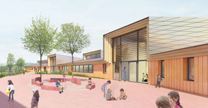 Construction d'un groupe scolaire intercommunal - Hecken