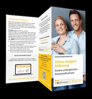 """Patienteninformation """"Sichere Amalgam-Entfernung"""": Hier klicken!"""