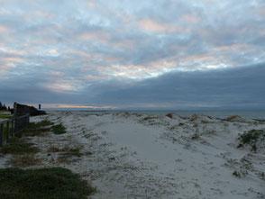 La plage du Sémaphore où l'on squatte avec notre van à Port Adélaïde