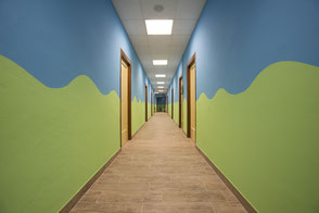 Corridoio entrata Ambienti
