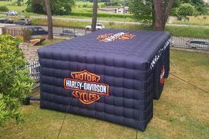 Stand Cubo Gonfiabile Harley Davidson