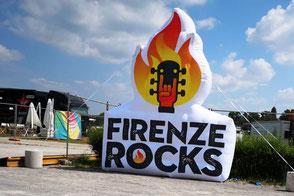 Logo Gonfiabile Firenze Rock Festival