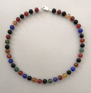 Armbänder aus Onyx, Calcit und Süßwasserperlen mit Sterlingsilber, Perlen, Perlenschmuck, Perlenkette, Perlenarmband