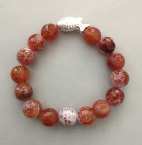 Armband Amethyst, Bergkristall und Sterlingsilber, Perlen, Perlenschmuck, Perlenkette, Perlenarmband